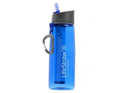 Fľaša na vodu s filtrom LIFESTRAW GO2 STAGE modrá