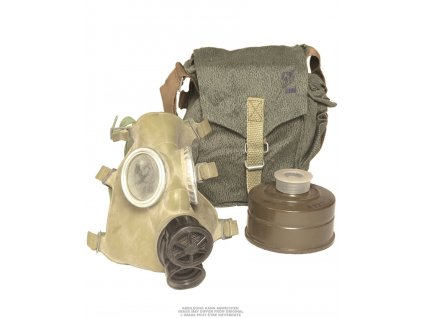 Ochranná maska Polish MC-1 Gas Mask with 40mm sealed filter and original carry 91650070
