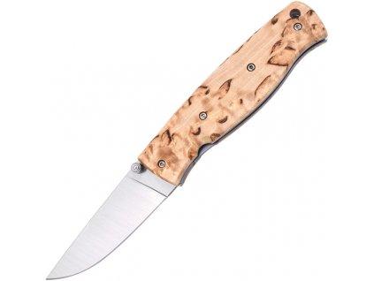 Zatvárací nôž Brisa Birk 75 - Curly Birch 2505