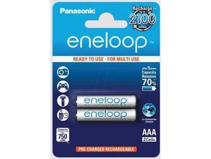 Dobíjacie batérie BK-4MCCE-2DE Panasonic Eneloop R03/AAA 750mAh – blister 2 ks