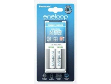 Batérie a nabíjačka K-KJ50MCC20E Panasonic Eneloop Charger BQ-CC50 + 2 x R6/AA Eneloop