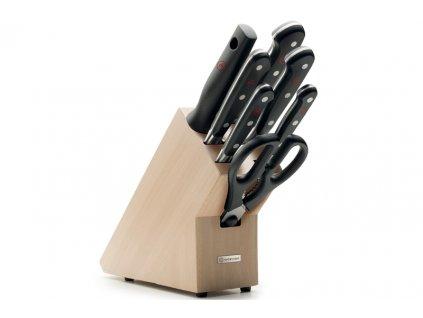 Wüsthof CLASSIC Blok s nožmi, 7ks, svetlý - limited edition 1090170704