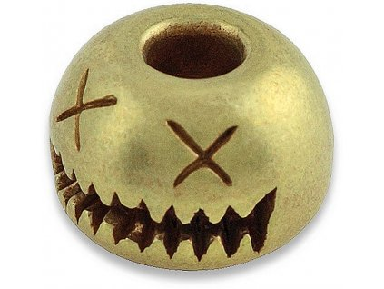 Mosadzná korála AuCon Smiley Bead Brass
