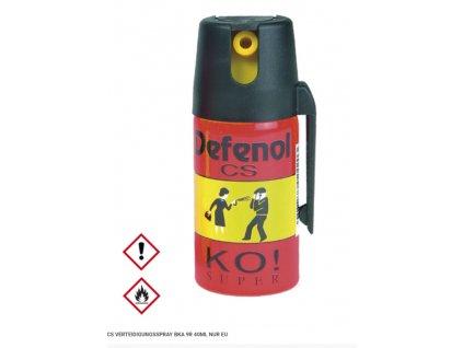 Obranný sprej Defenol CS BKA 9R 40 ml