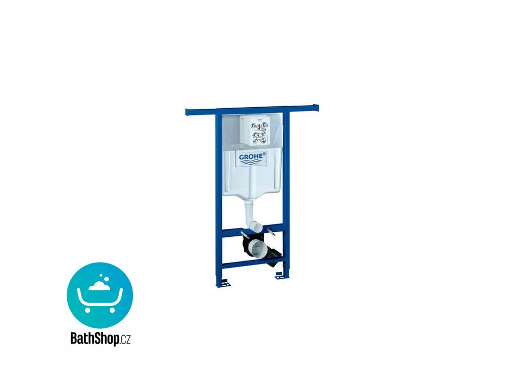 Grohe RAPID SL (JÁDRO) pro závěsné WC, stavební výška 1,13m, pro instalační šachty - 38588001