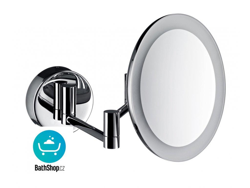 Emco LED kosmetické zrcátko zvětšení 3x, chrom, 200mm - 109500120