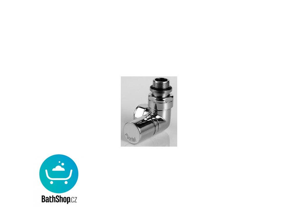 Zehnder ventil rohový úhlový XS, ruční hlavice vlevo chrom - 838368