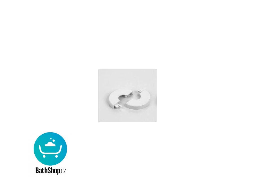 Zehnder Krytka prům. 12 mm, bílá - 853451