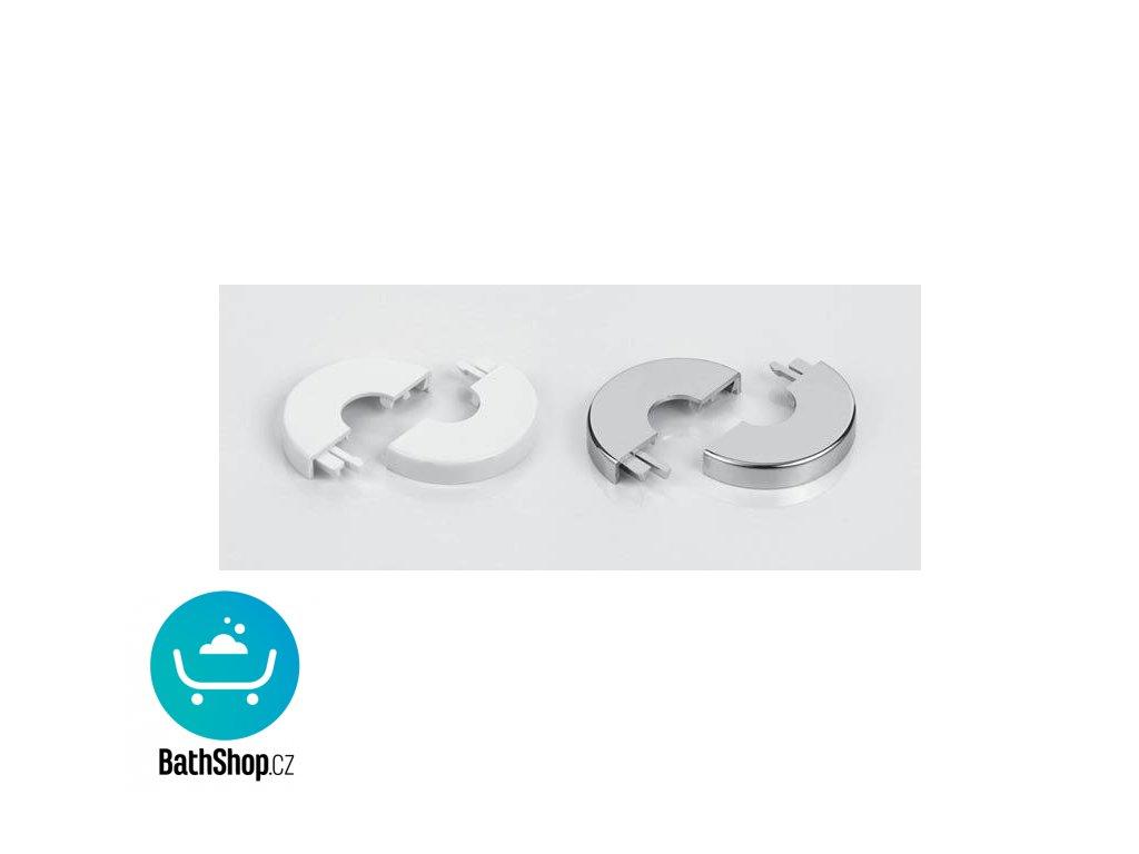Zehnder krytka prům. 18 mm, bílá -853491