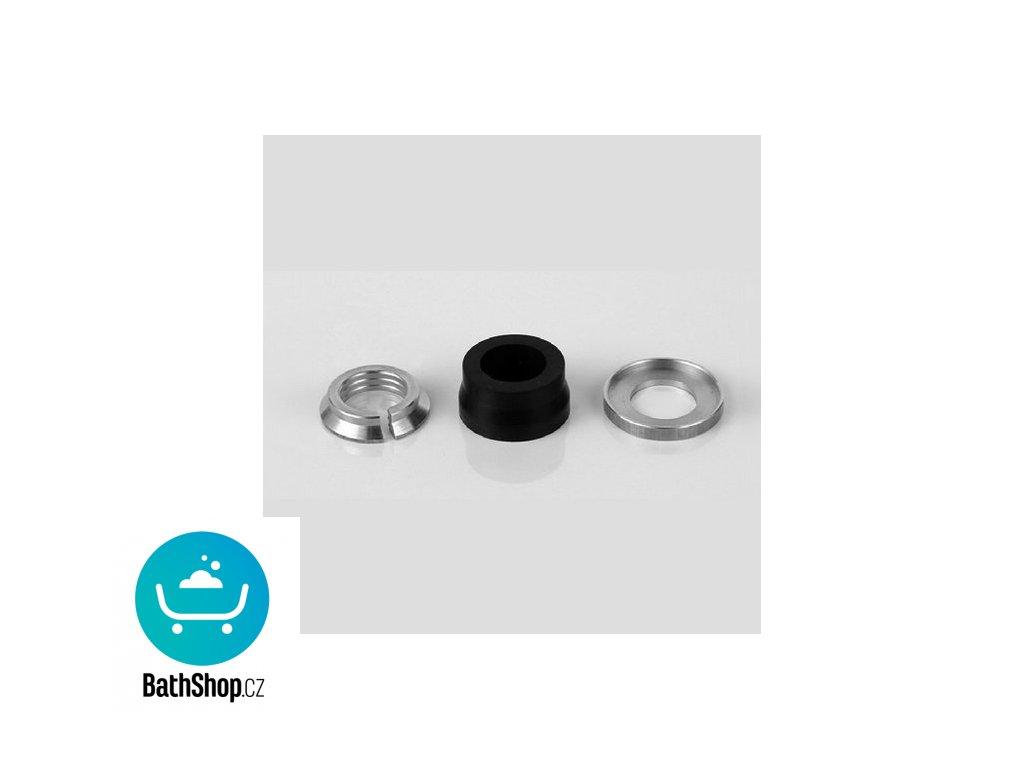 Zehnder svěrné šroubení XS pro měď.trubky prům. 18 mm, s maticí chrom - 853618