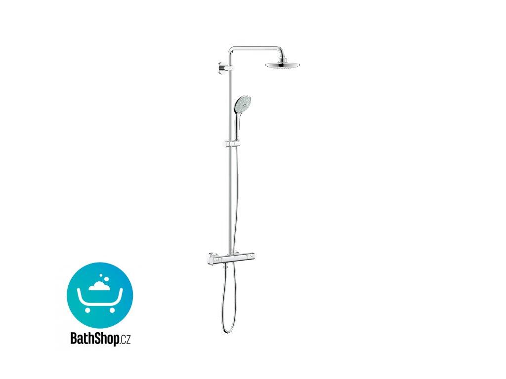 Grohe EUPHORIA SYSTEM Sprchový systém s termostatem na zeď, chrom - 27296001