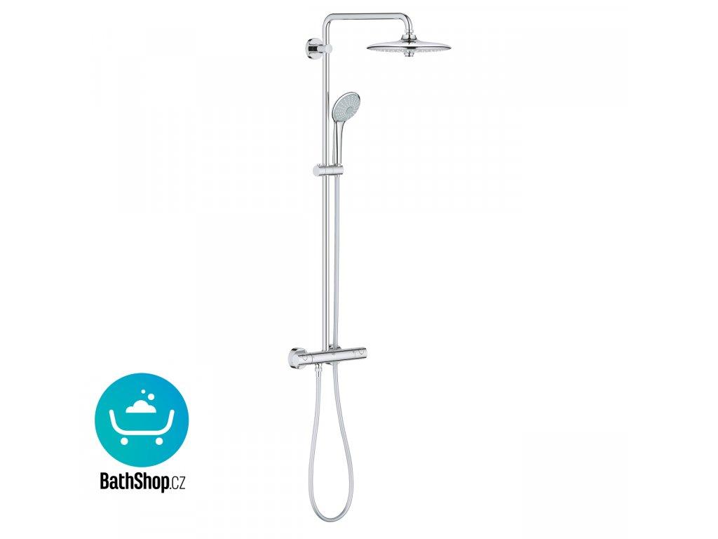 Grohe Euphoria 260  Sprchový systém s termostatem na zeď, chrom -27296002