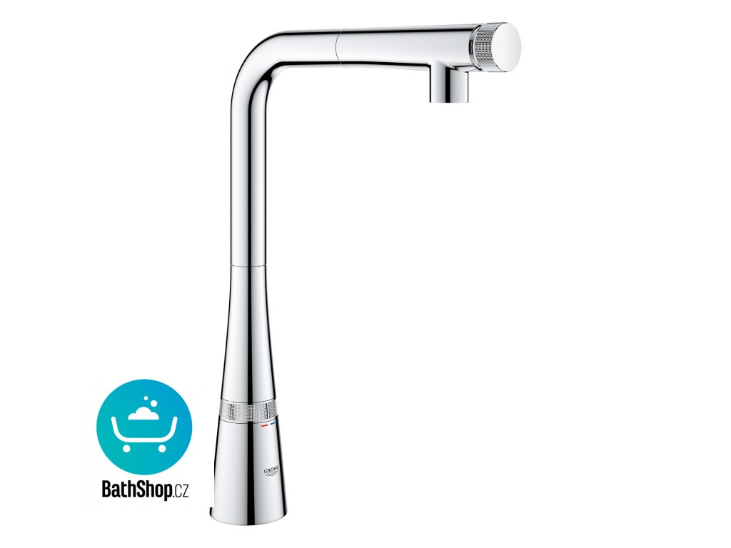 Grohe Zedra Smart Control  L-sp pull-out mouss - 31593002