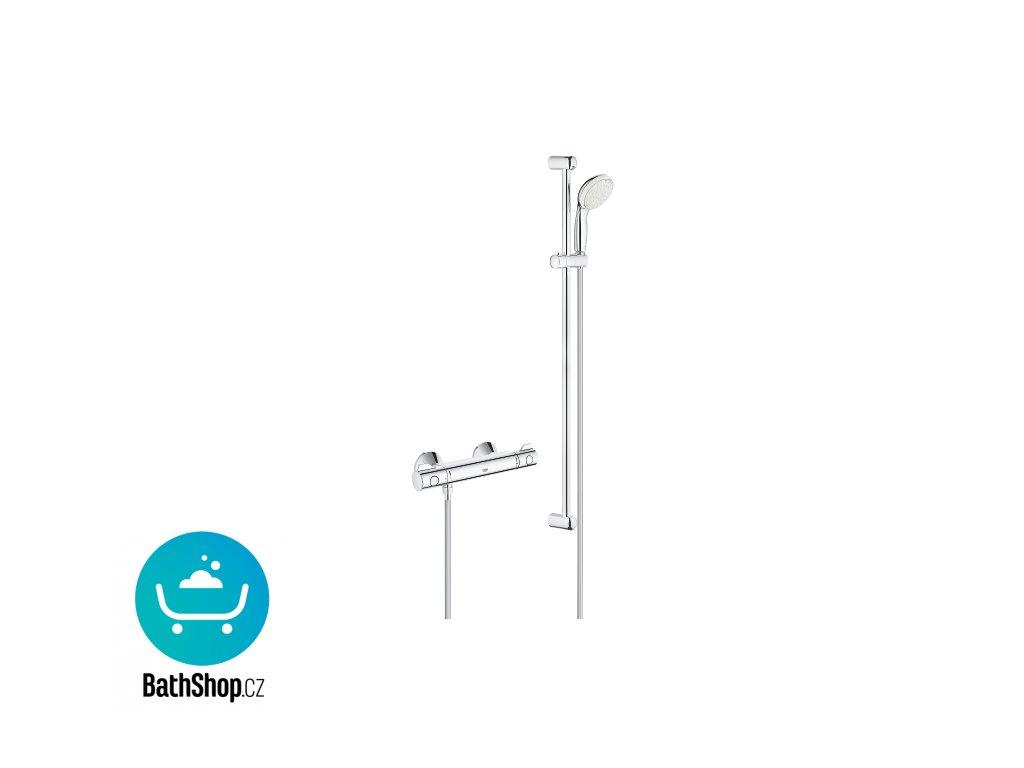 Grohe Grohtherm 800 termostatická sprchová baterie se sprchovou soupravou - 34566001