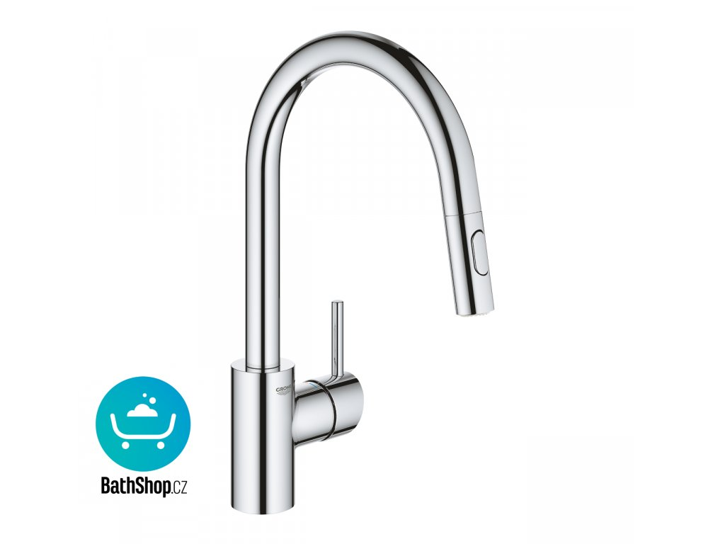 Grohe Concetto OHM sink C-spout Dual Spray - 31483002