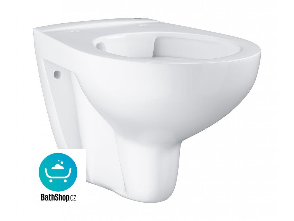 Grohe Bau Ceramic závěsné WC, rimless, alpská bílá - 39427000