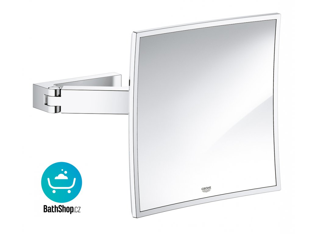 Grohe SELECTION CUBE Cosmetic mirror, chrom - 40808000