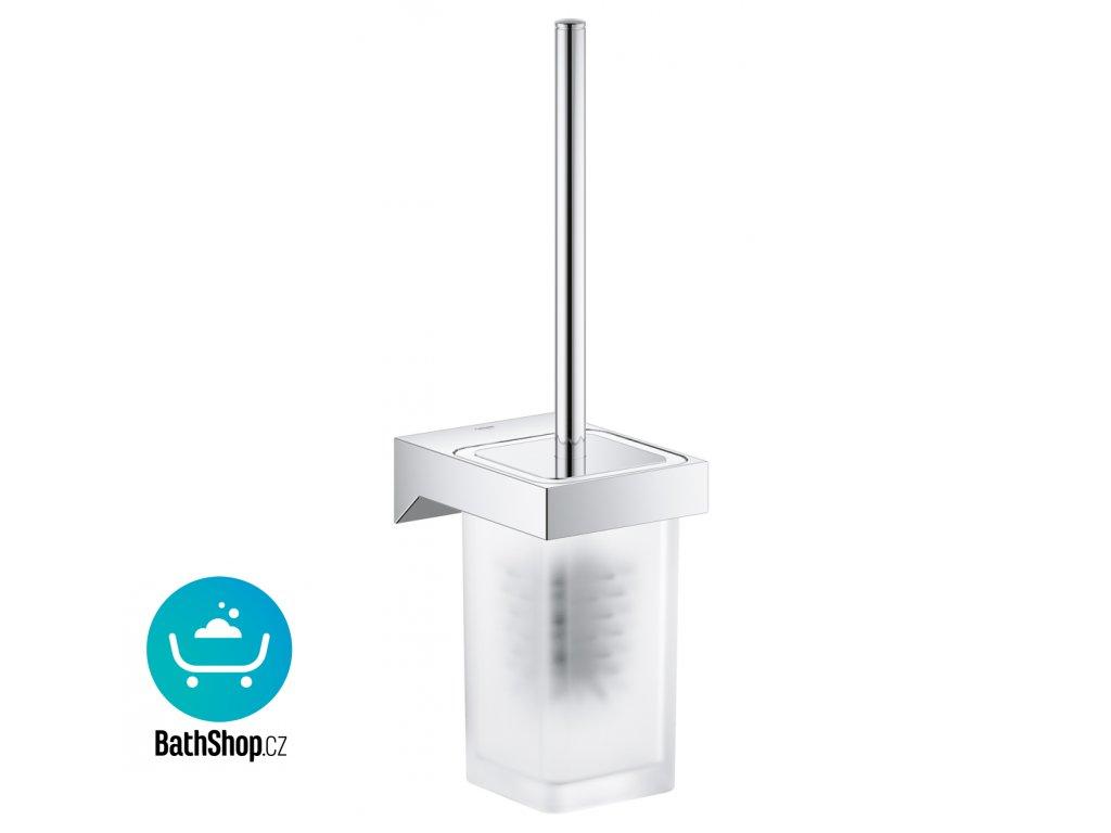 Grohe SELECTION CUBE Souprava na čištění toalety, chrom - 40857000