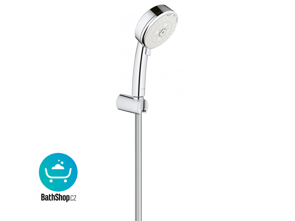 Grohe New Tempesta Cosmopolitan 100 set s držákem III, 9.5 l/min, 1500mm, non- adjustable - 27588002