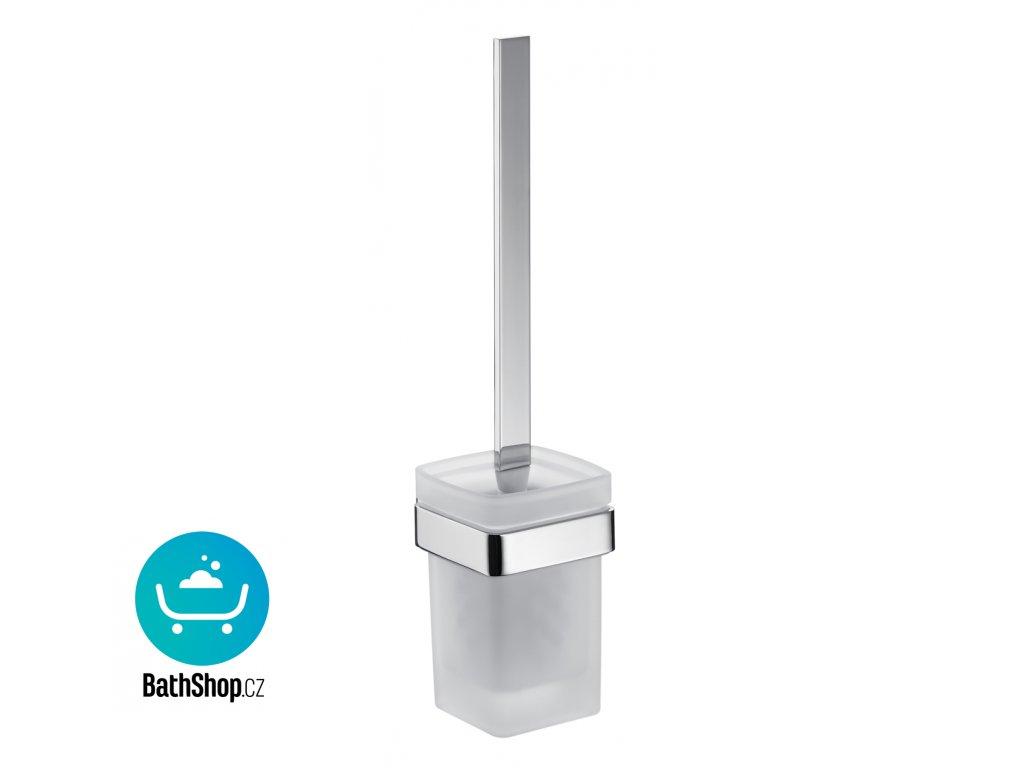 Emco LOFT WC - souprava satin, chrom, montáž na zeď - 051500100