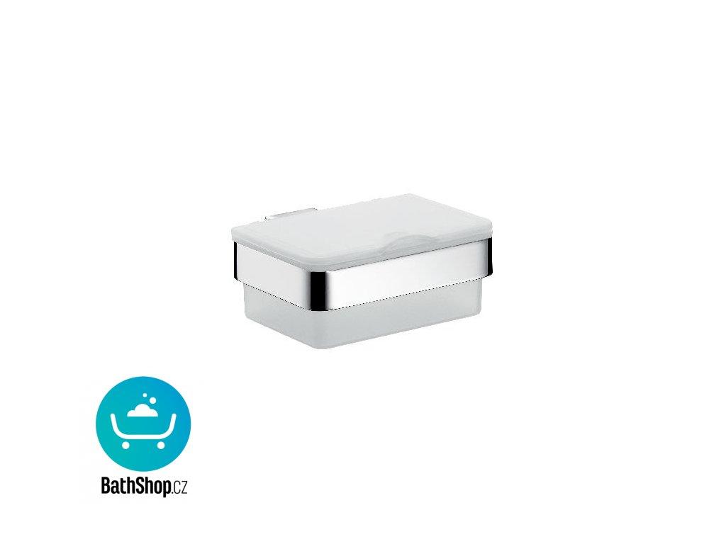 Emco LOFT NEW box na papírové kapesníky satin, chrom - 053900101