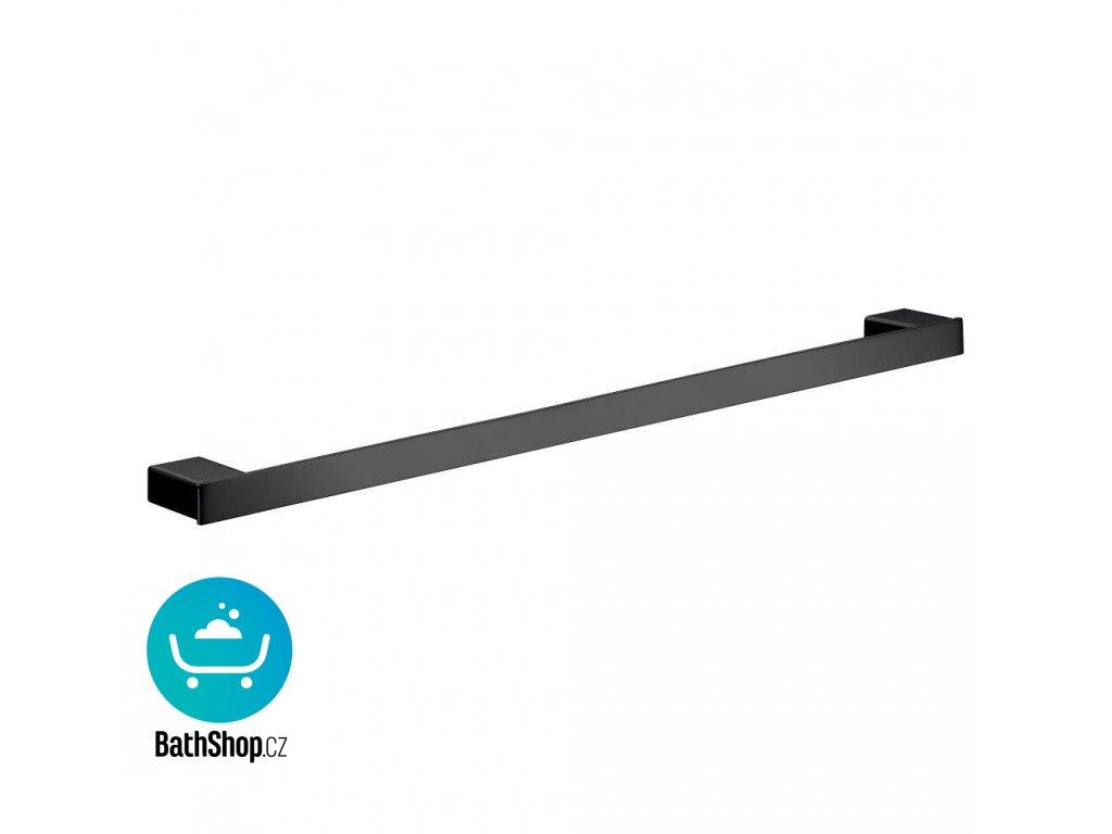 Emco LOFT držák ručníku 600mm, černý - 056013360