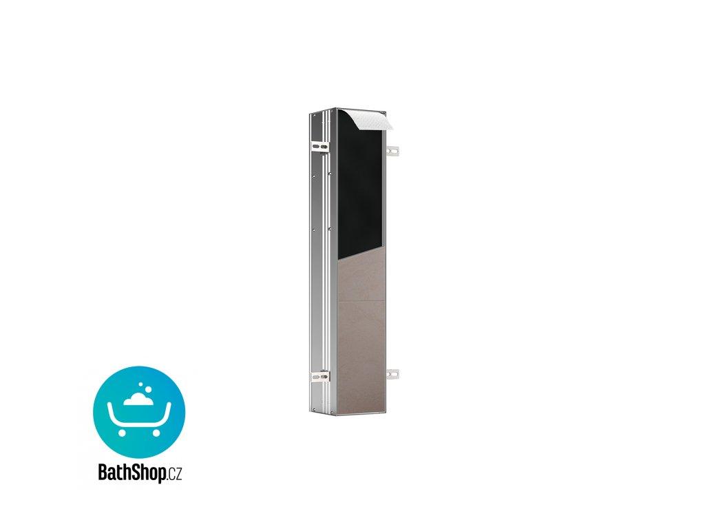 Emco WC modul ASIS PLUS vestavný pro obložení pro WC soupravu a dvě role toal.papíru, výška 803mm, P - 975611011