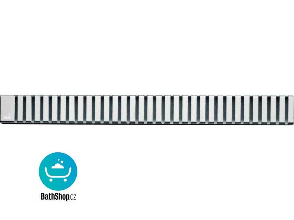 Alcaplast Rošt pro liniový podlahový žlab (nerez lesk), 1050 mm - LINE-1050L