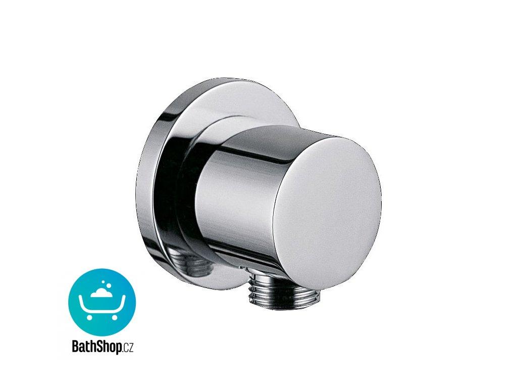 """Sapho vyústění sprchy pro podomítkové baterie, 1/2"""",prům. 6 cm, chrom - 1205-01"""