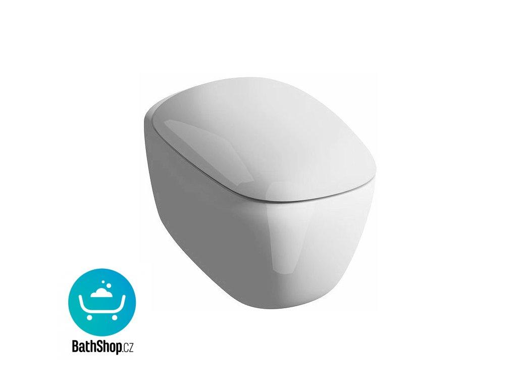 Geberit Citterio WC závěsné, 6l, hluboké splachování, Rimfree - 203570000