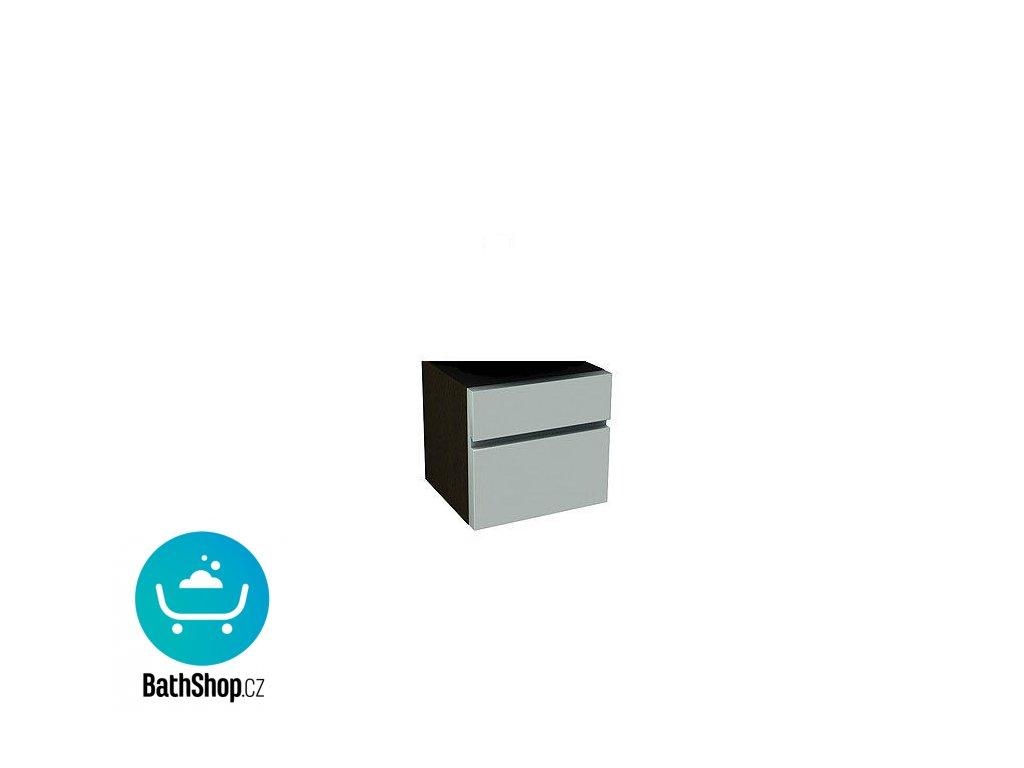 Kolo Domino, závěsná skříňka se zásuvkou 50x37x37, cappucino/wenge -  89211000