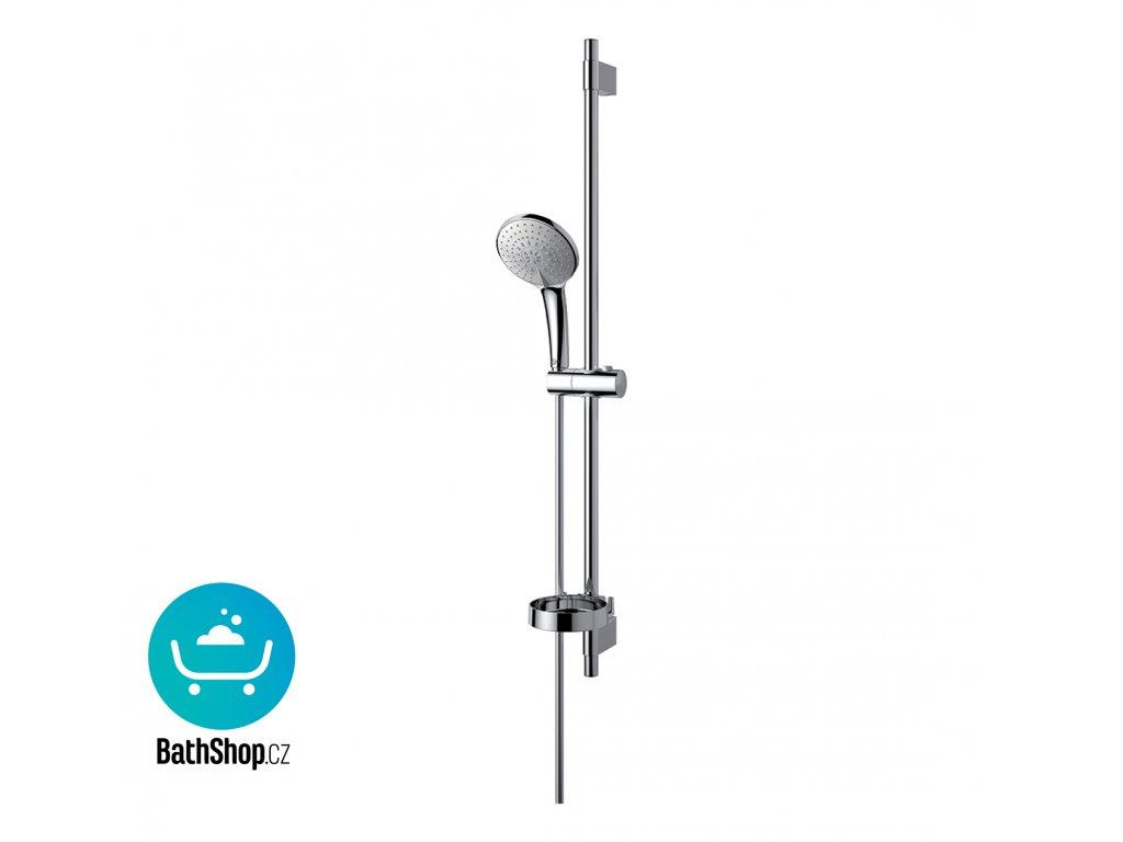 Ideal Standard Idealrain Sprchová kombinace, tyč 90 cm L3 s 3-funkční ruční sprchou, 120 mm - B9427AA