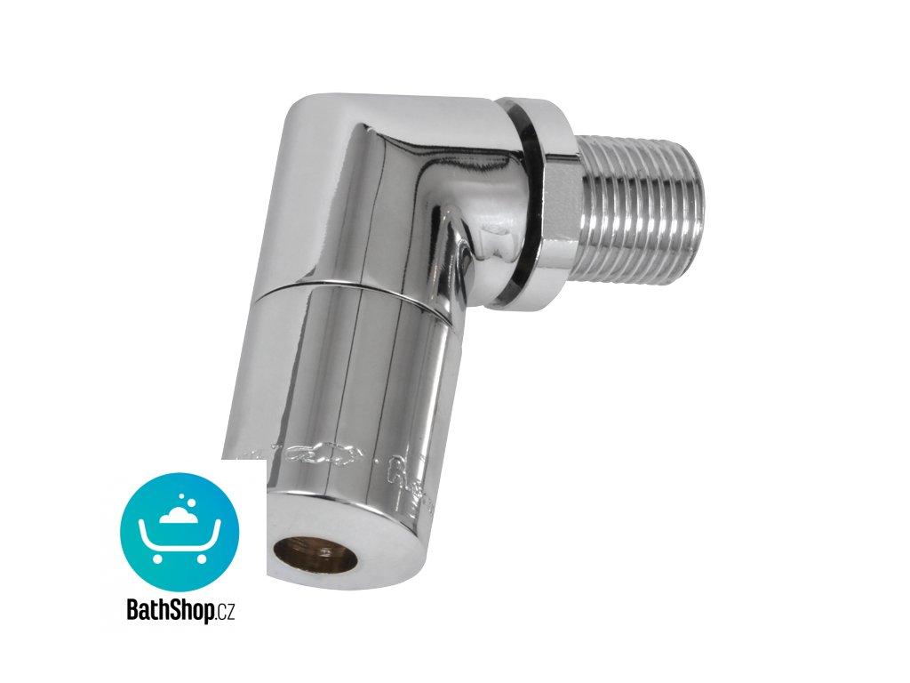 Antivandalová sprchová hlavice s nastavením úhlu výtoku