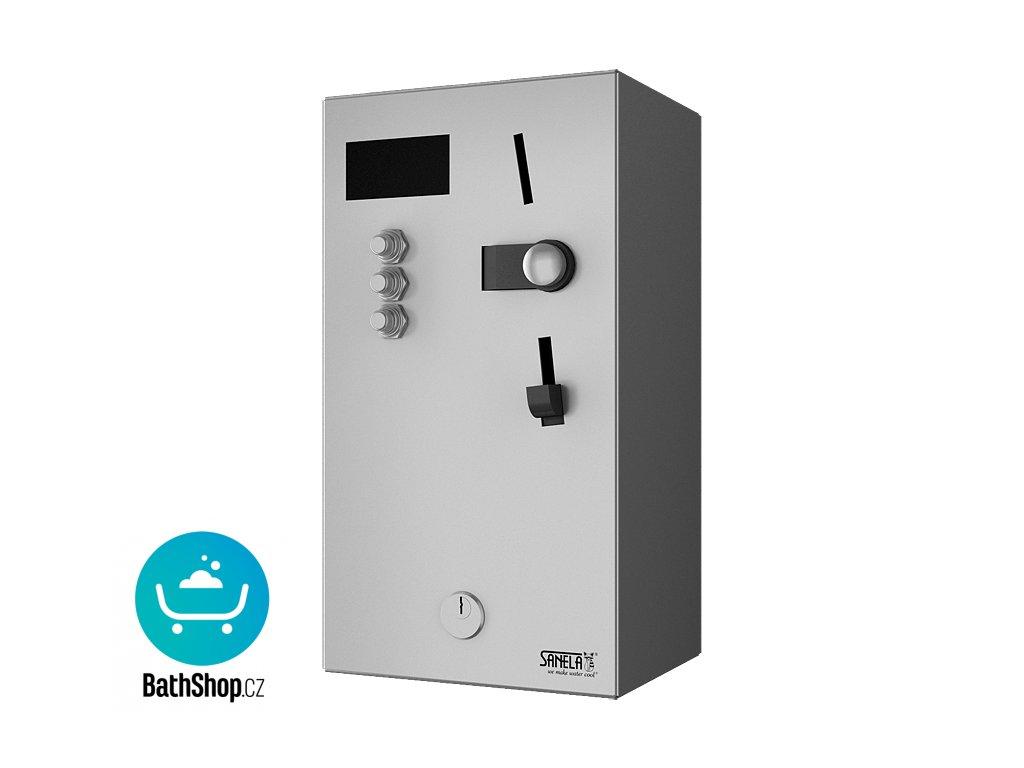 Automat pro jednu až tři sprchy, 24 V DC, volba sprchy uživatelem, interaktivní ovládání