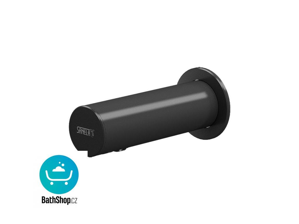 Automatický nerezový nástěnný dávkovač mýdla, černý, 230 V AC