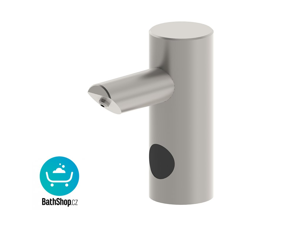 Automatický nerezový stojánkový dávkovač mýdla, nádržka na mýdlo 1 l, 230 V AC