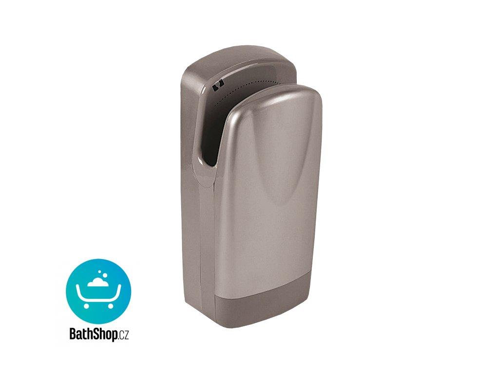 Automatický osoušeč rukou, šedý plastový kryt