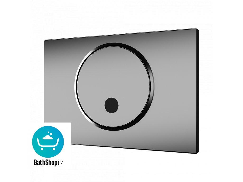 Automatický splachovač WC s elektronikou ALS pro montážní rám Geberit - tlačítko SIGMA 10, 24 V DC
