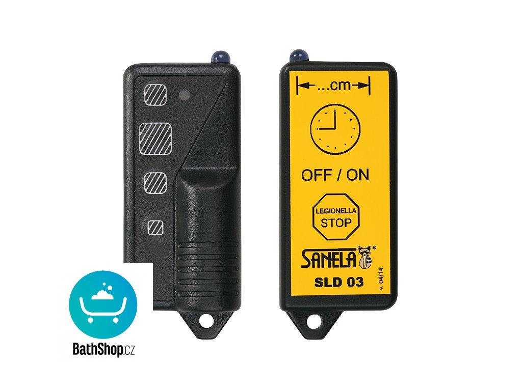 Dálkové ovládání pro nastavení parametrů infračervených čidel