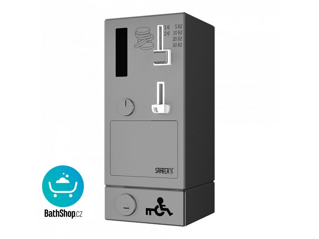 Mincovní automat dveřního zámku s eurozámkem, 24 V DC