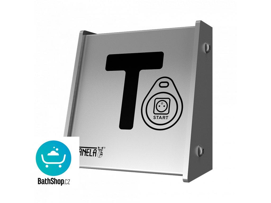 Nástěnný automat pro jednofázový spotřebič RFID, 24 V DC