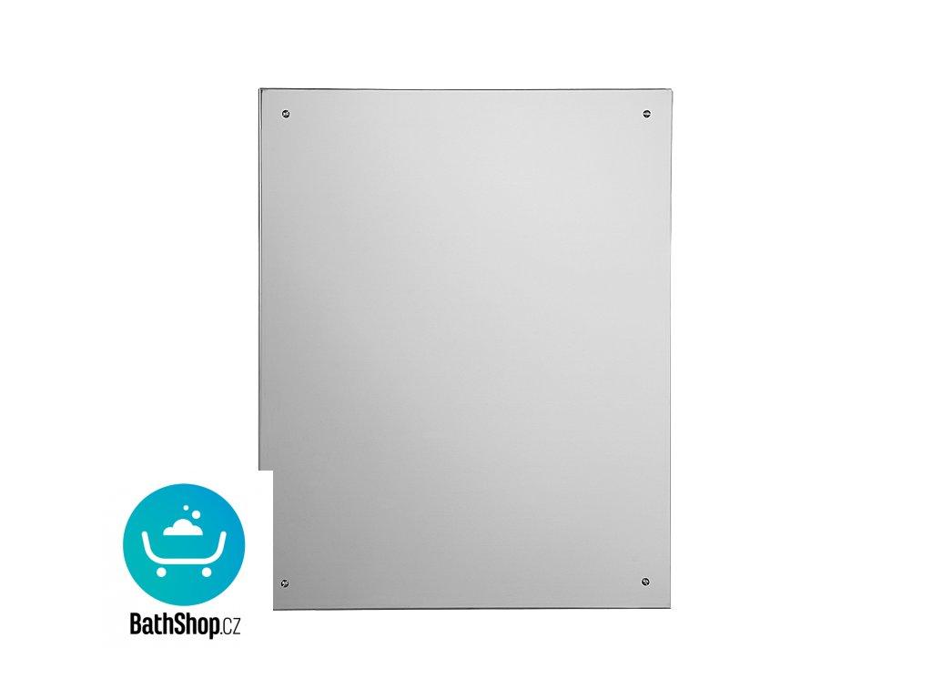 Nerezové antivandalové zrcadlo (600 x 400 mm)