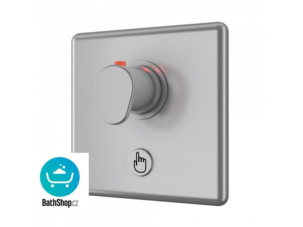 Piezo ovládání sprchy s termostatickým ventilem pro teplou a studenou vodu, 6 V