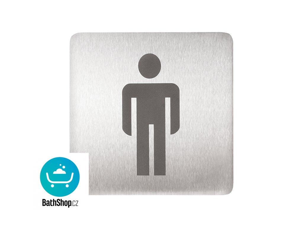 Piktogram - WC muži