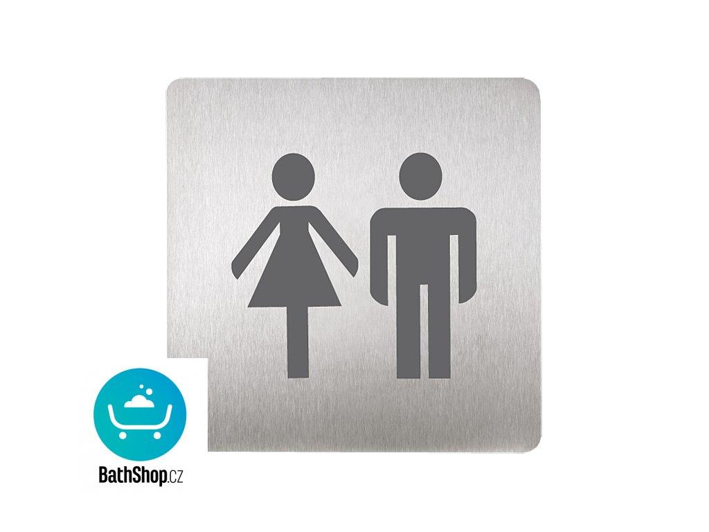 Piktogram - WC muži i ženy