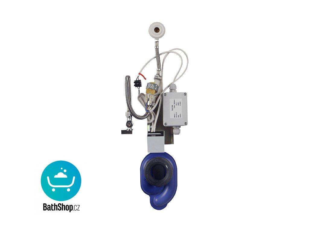 Radarový splachovač pisoáru na liště s integrovaným zdrojem, 230 V AC