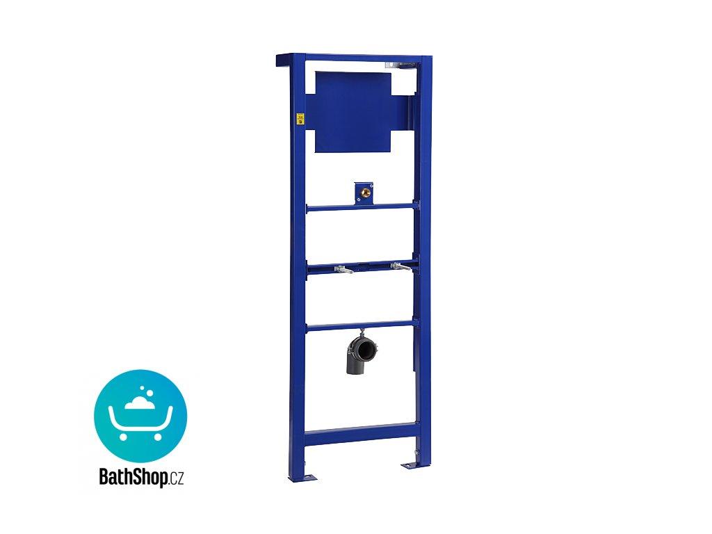 Rám určený do sádrokartonových konstrukcí nebo pro ukotvení na zem a do zadní zdi, pro zabudování suchým procesem, pro uchycení pisoáru se senzorem umístěným nad pisoárem