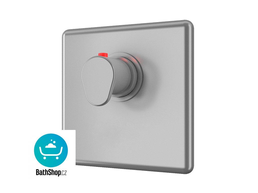 Sprchová armatura bez piezo tlačítka - pro dvě vody, regulace termostatem