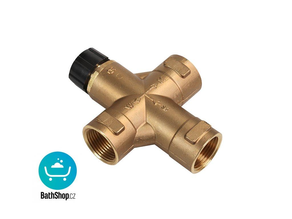 """Termostatický směšovací ventil 3/4"""" (28 l/min. při tlaku 0,1 MPa)"""