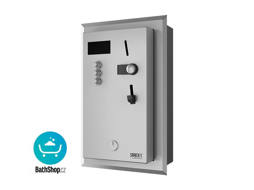 Vestavěný automat pro jednu až tři sprchy, 24 V DC, volba sprchy uživatelem, interaktivní ovládání